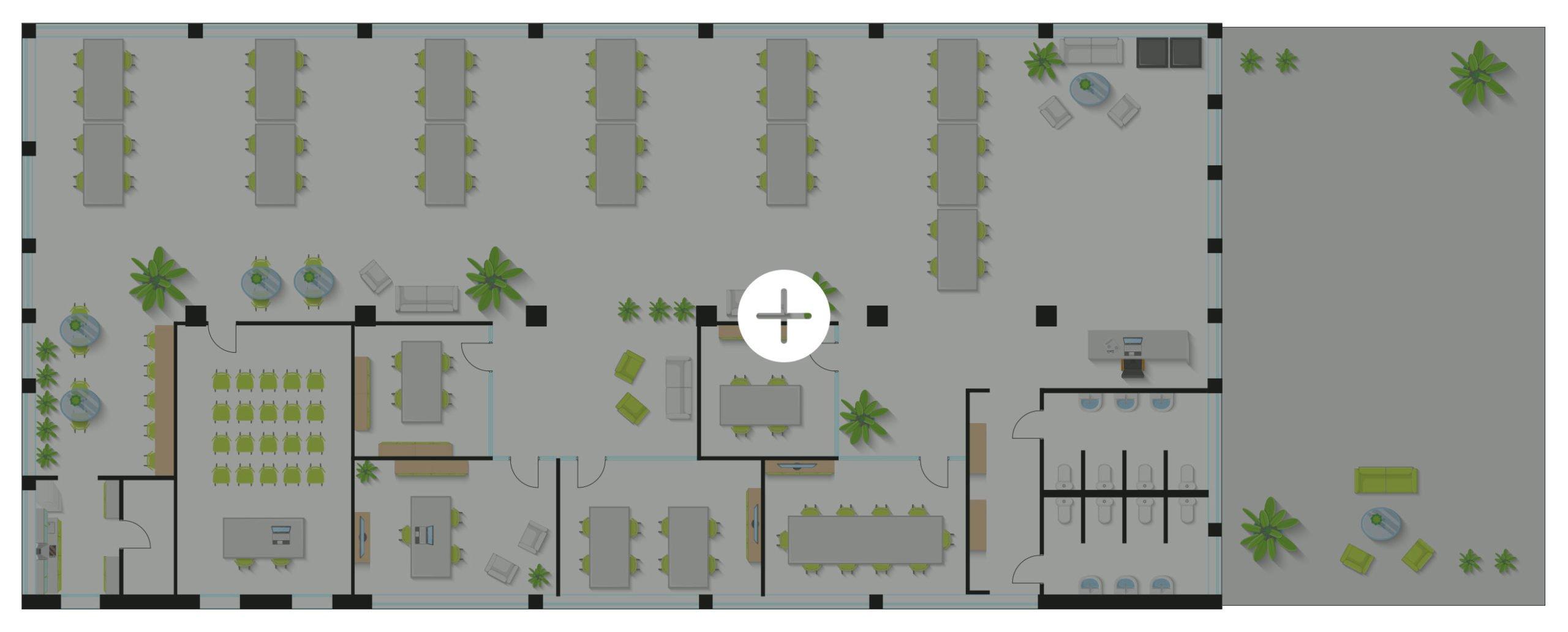 ufficio coworking mappa