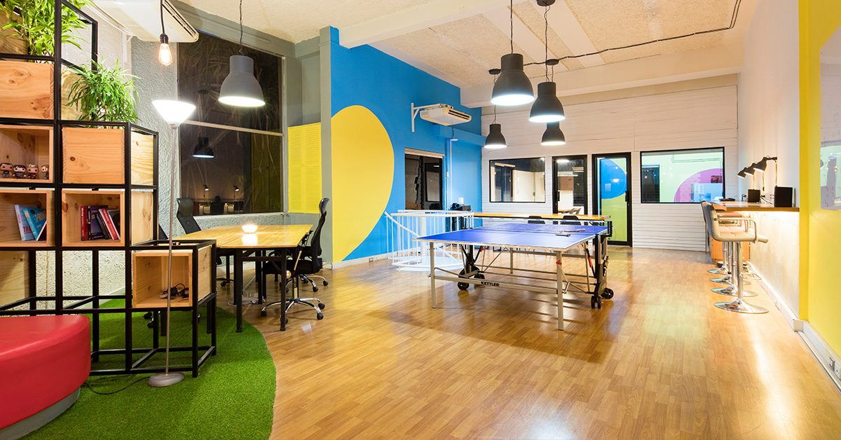 ufficio colorato